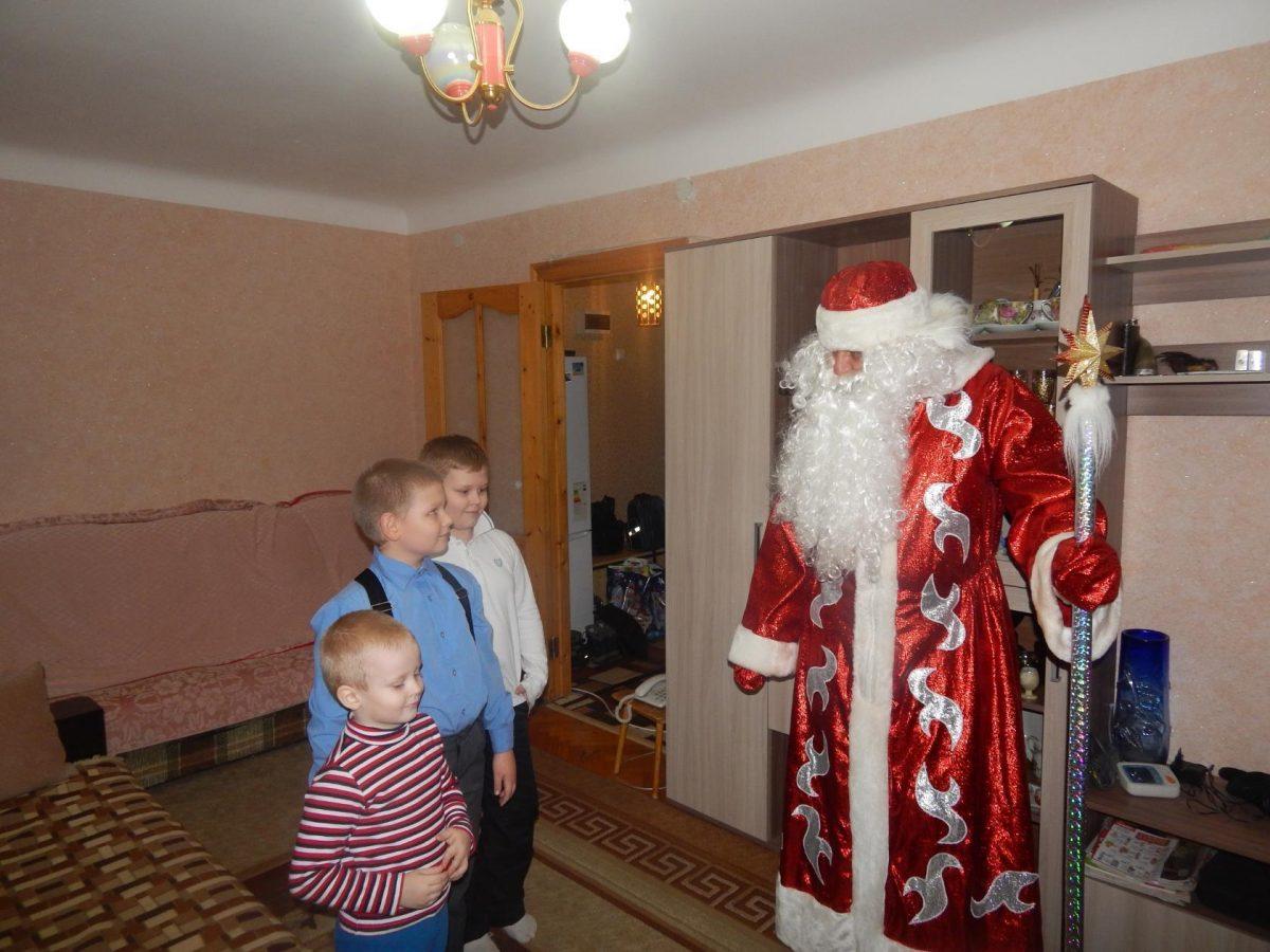 Дед Мороз в гостях у трех братьев