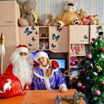 У себя в Вотчине Дед Мороз и Снегурка Ростов